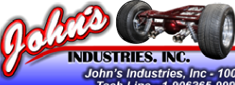 "Thank You John's Industrial 9"" rearends"