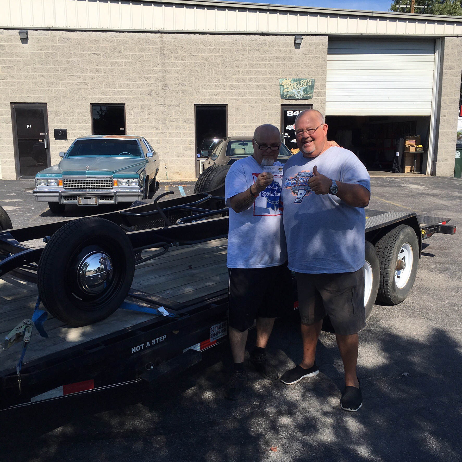 Terry Heltzel from Kokomo,Indiana is the Winner of our Pete & Jakes 32 Ford Chassis Giveaway